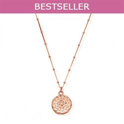 ChloBo moonflower necklace rose gold