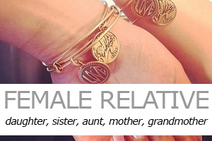 Jewellery gifts for female relatives