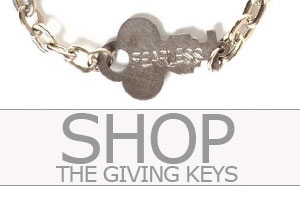Shop Giving Keys bracelets
