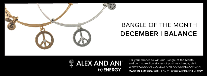 Alex and Ani Bangle of the month December competition