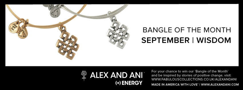 Alex and Ani Bangle of the month September competition