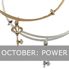 October - Alex and Ani Skeleton Key, Power