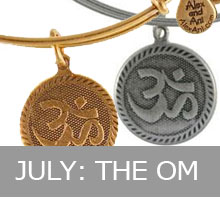 July - Alex and Ani Om, Creation