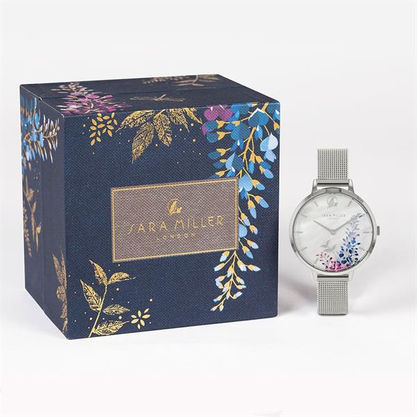 Sara Miller Wisteria White Watch
