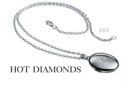 Hot Diamonds Inheritance Locket
