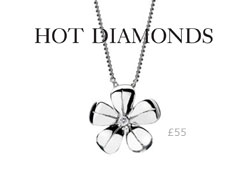 Hot Diamonds Plumbago Pendant