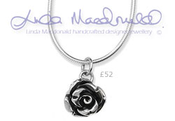 Linda Macdonald Small Rose Necklace