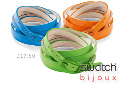 Swatch Colour Code Bracelets